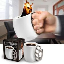 Coffee: it's a weapon of choice